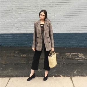 Urban Outfitters plaid blazer - size S